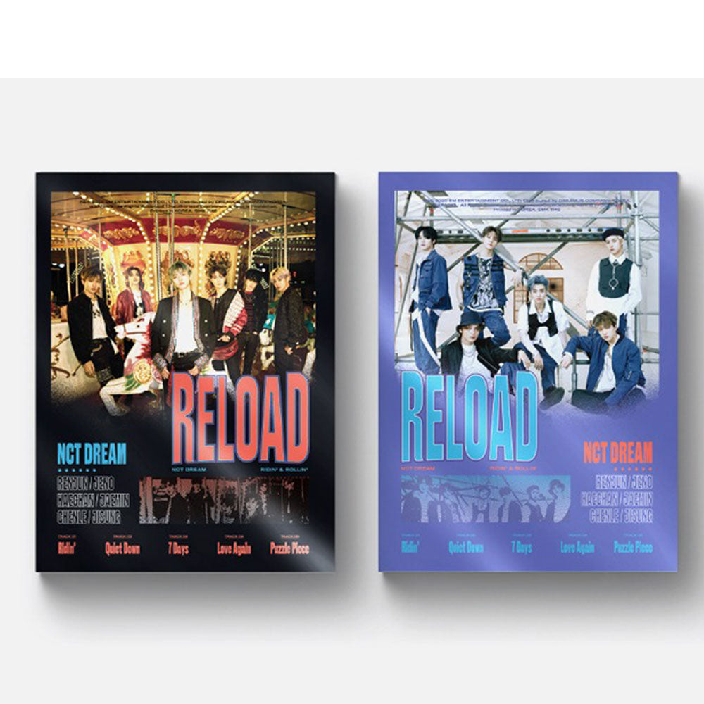 NCT DREAM MINI ALBUM [ RELOAD  ]