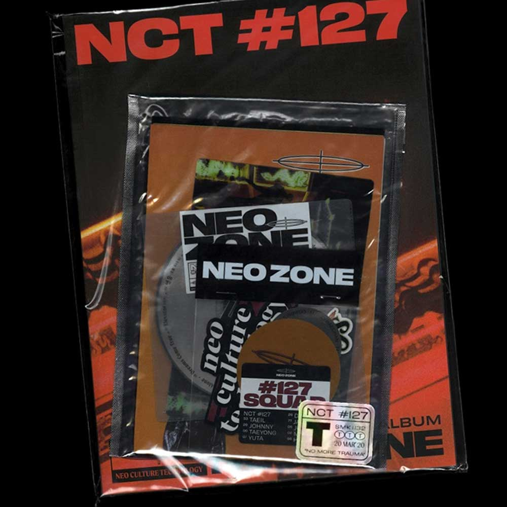 NCT127 2ND ALBUM [ NCT #127 NEO ZONE ] T VERSION