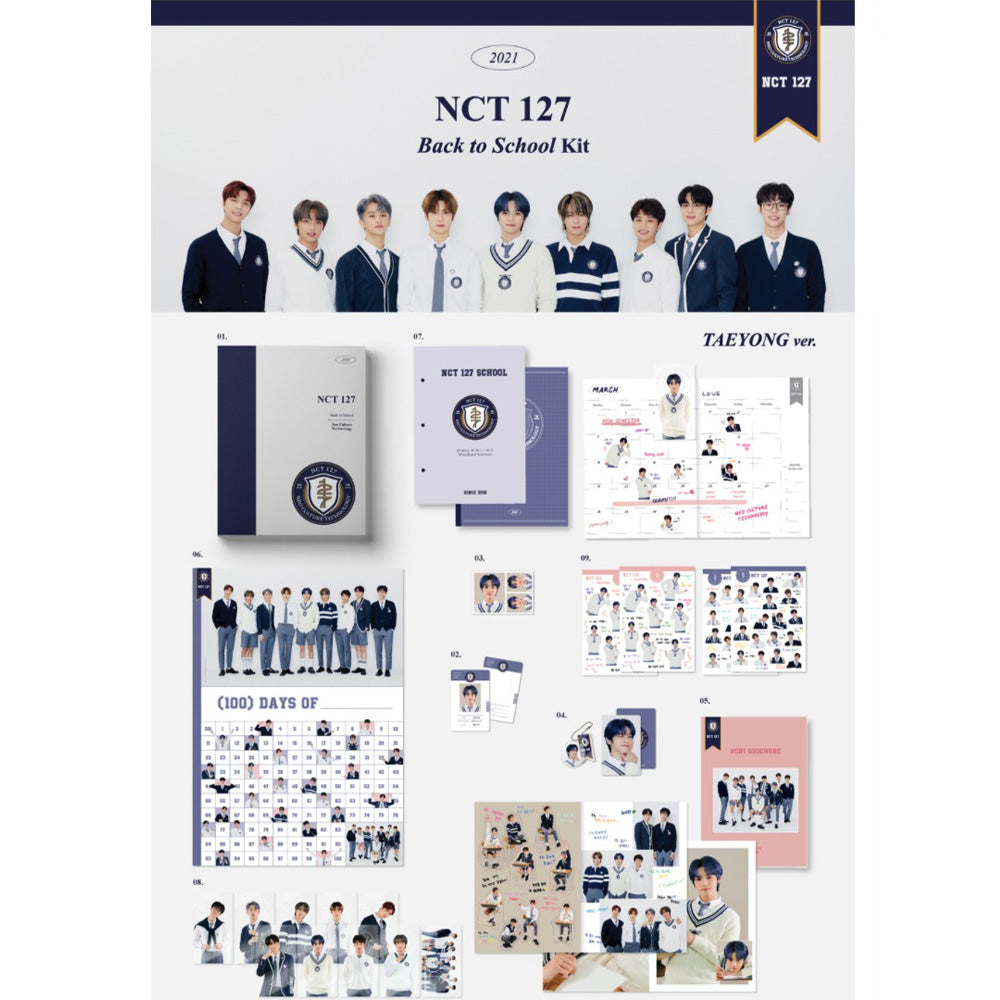 NCT127 | 2021 BACK TO SCHOOL KIT