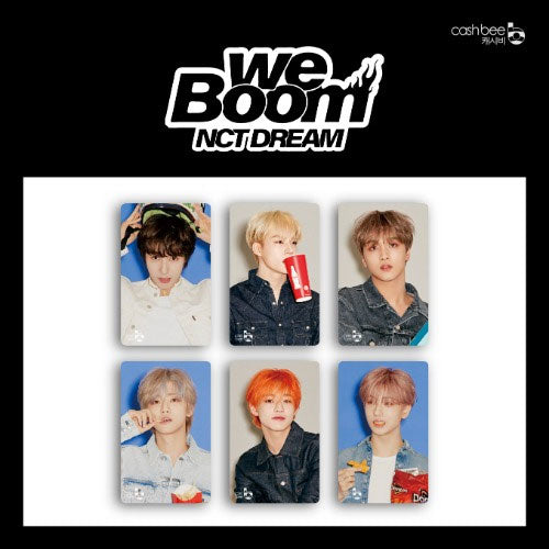 NCT DREAM CASHBEE TRAFFIC CARD