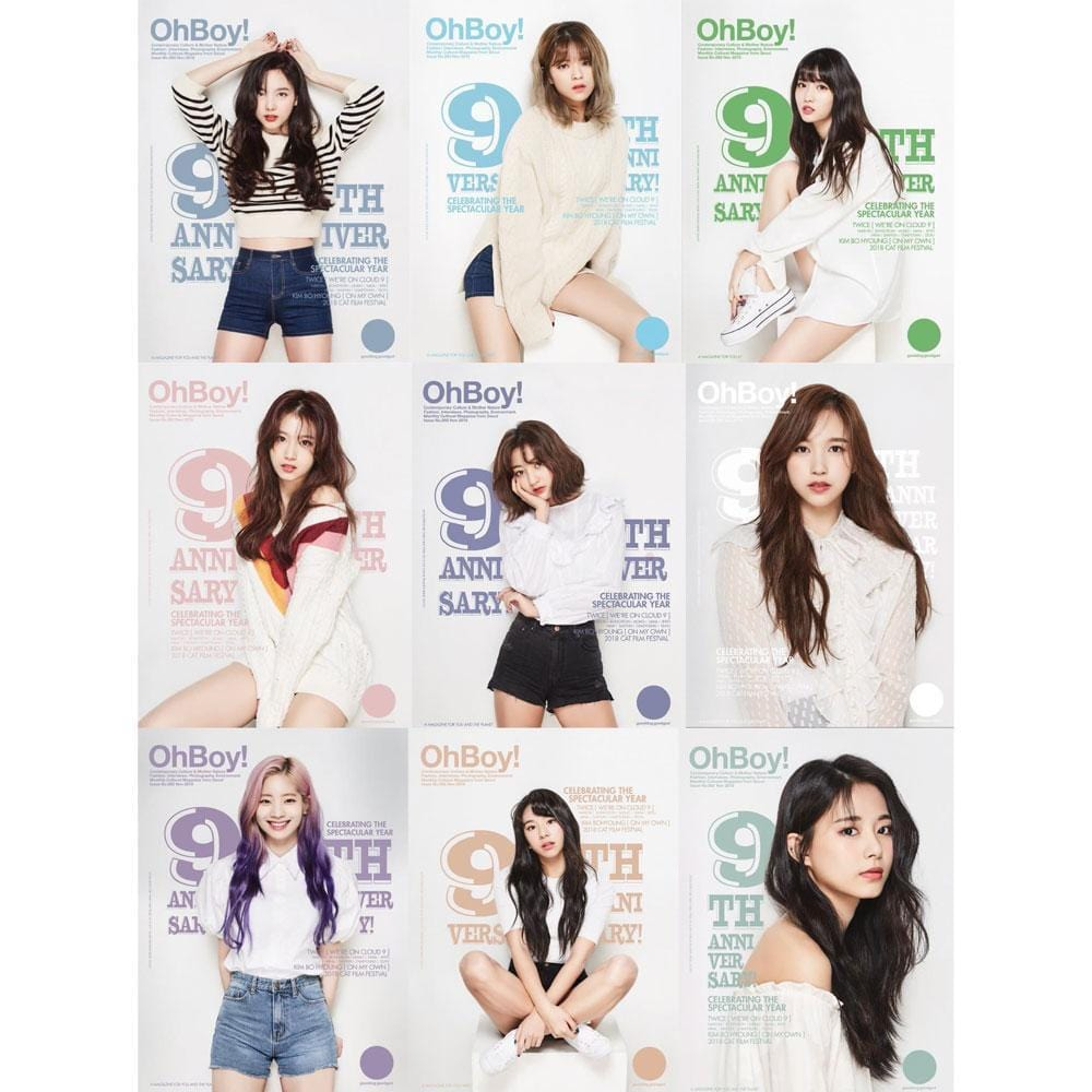 TWICE | OhBoy! | 9TH ANNIVERSARY FULL MAGAZINE