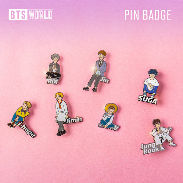 BTS WORLD [ PIN BADGE ]