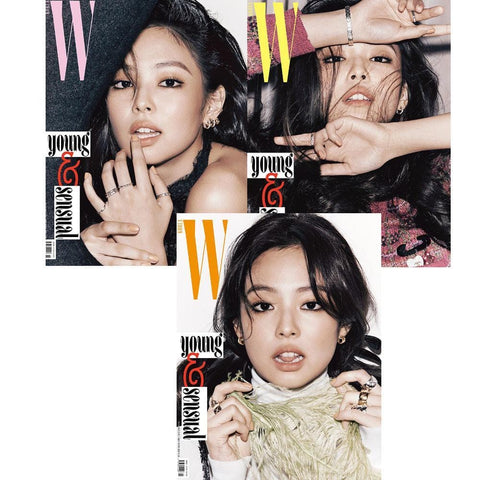 더블유 | W | 2018-11 [ JENNIE COVER- BLACKPINK ] KAI PHOTO (12p) KOREA MAGAZINE+SPECIAL GIFT