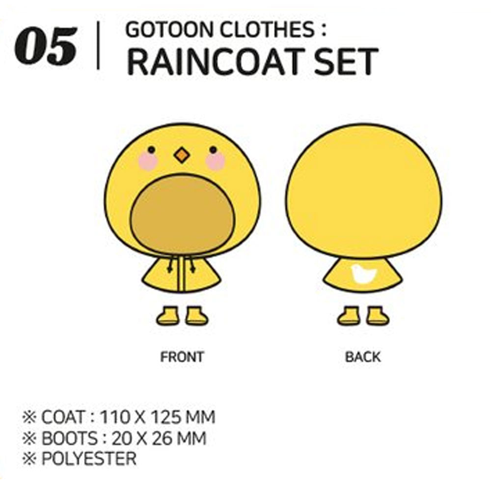GOT7 [ RAINCOAT SET ] GOTOON by GOT7 SUMMER STORE