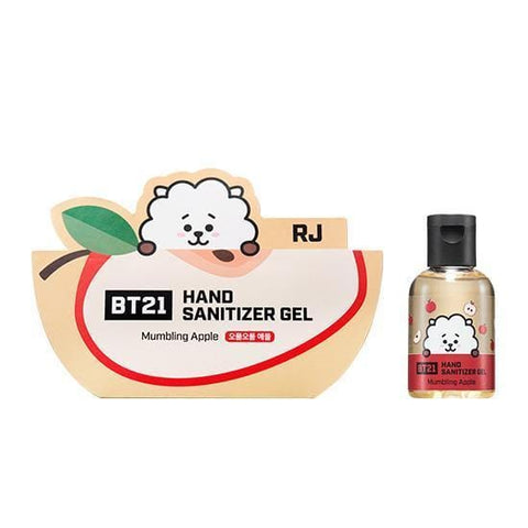 BT21 Hand Sanitizer Gel [ RJ ] Mumbling Apple
