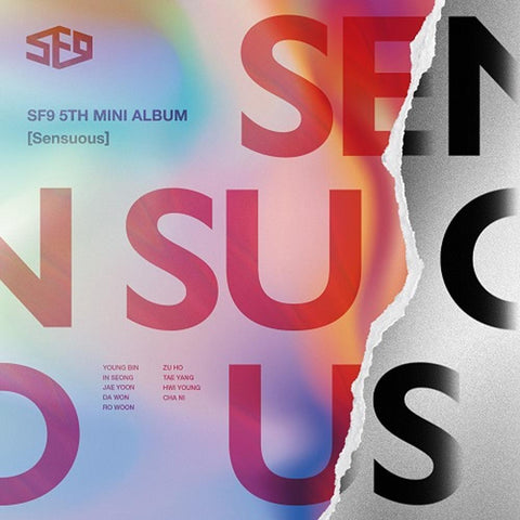 SF9 | 에스에프 나인 | 5th Mini Album [ Sensuous ] Exploded Emotion Ver.