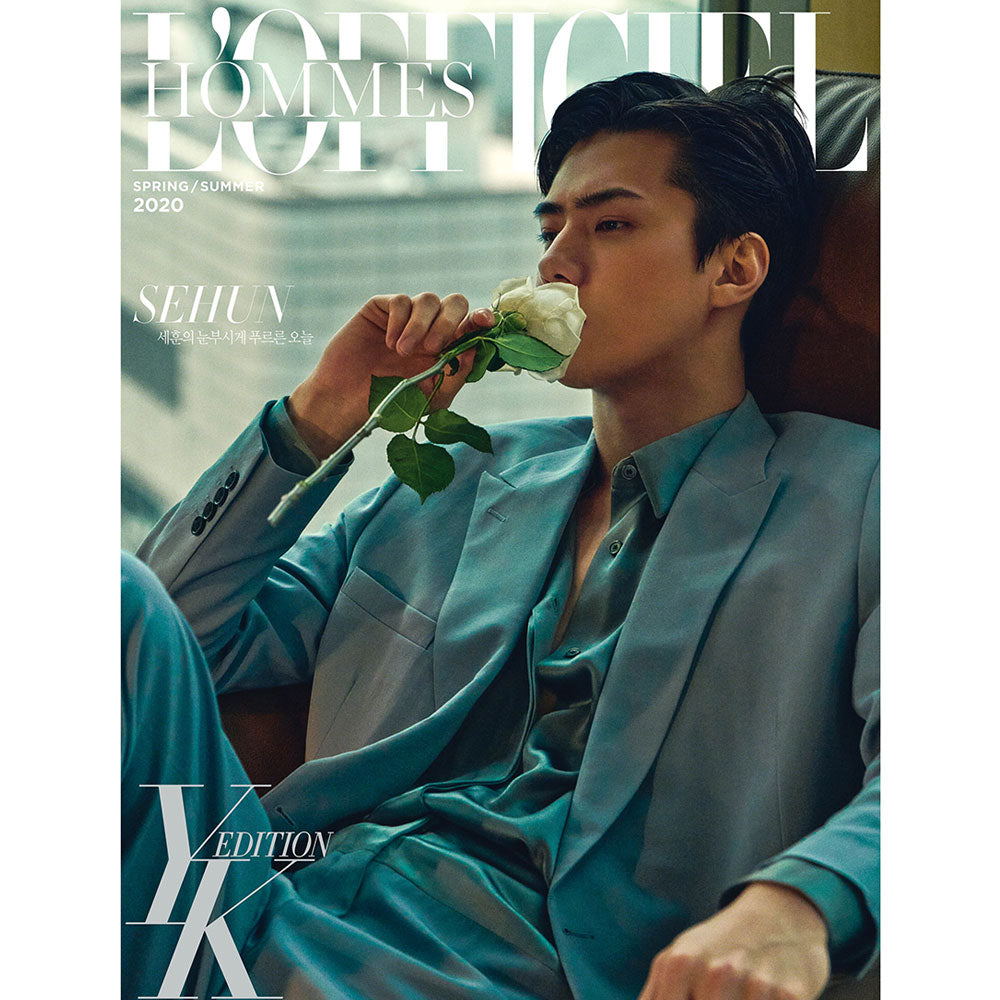 로피셜 옴므 YK EDITION|  L'OFFICIEL HOMMES [ 2020 SPRING , SUMMER ED ] SEHUN