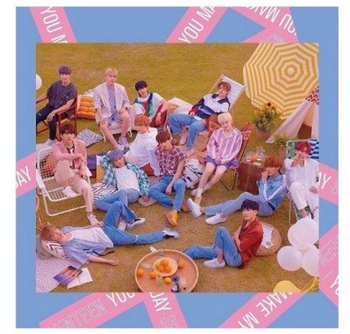 Seventeen- You Make Me Day (Taiwan Exclusive) (CD + DVD)