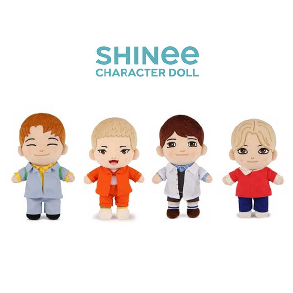 SHINEE CHARACTER DOLL OFFICIAL MD