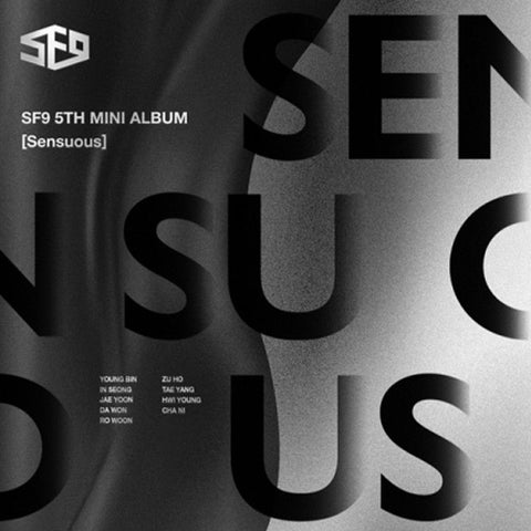 SF9 | 에스에프 나인 | 5th Mini Album [ Sensuous ] Hidden Emotion Ver.