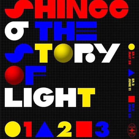 SHINEE | 샤이니 | 6TH ALBUM - THE STORY OF LIGHT  EPILOGUE