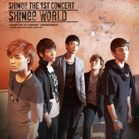 MUSIC PLAZA DVD <strong>샤이니 | SHINEE</strong><br/>1ST CONCERT: SHINee WORLD