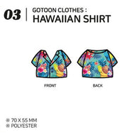 GOT7 [ HAWAIIAN SHIRTS ] GOTOON by GOT7 SUMMER STORE