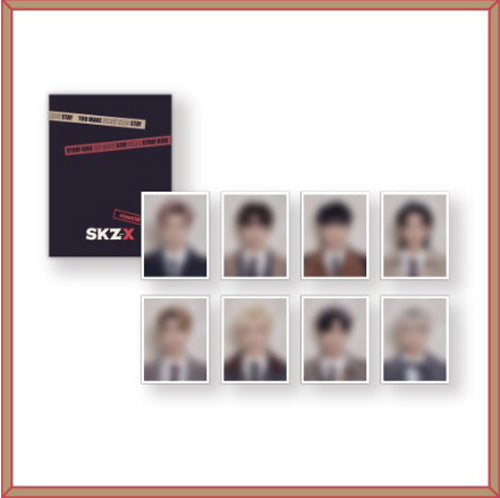 STRAY KIDS | 1ST#LoveSTAY 'SKZ-X' [ ID PICTURE SET ]