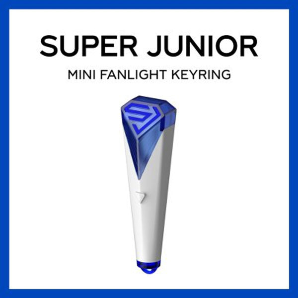 SUPER JUNIOR MINI FANLIGHT KEYRING