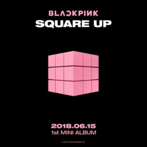 BLACKPINK | 블랙핑크 | 1st Mini Album - Square Up