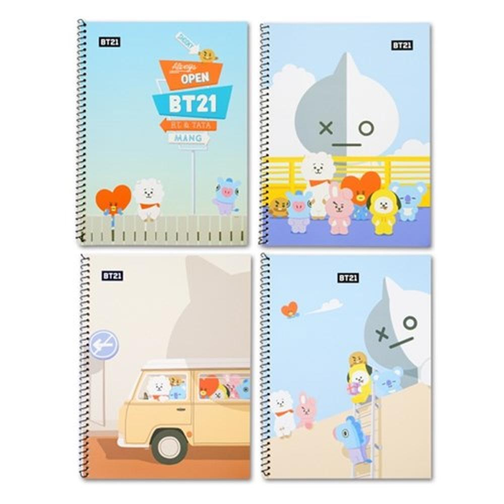 MUSIC PLAZA Photo Book 1-FENCE BT21 [ SPRING NOTE ] OFFICIAL MD