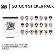 GOT7 [ STICKER PACK ] GOTOON by GOT7 SUMMER STORE