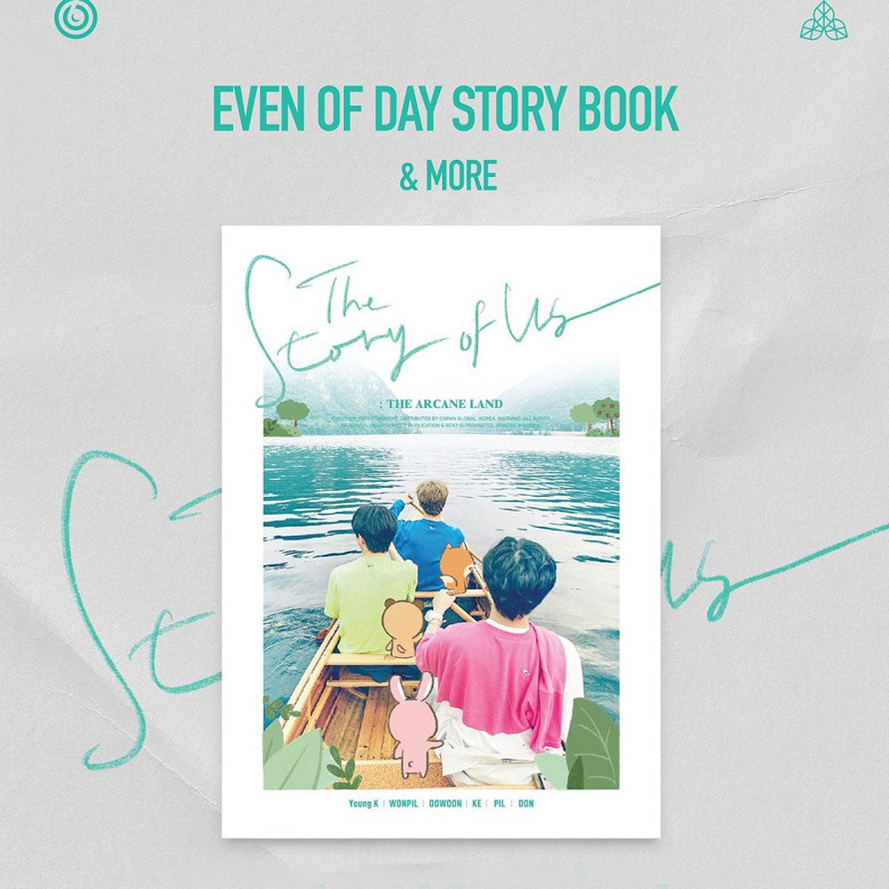 DAY6( EVEN OF DAY) STORY BOOK