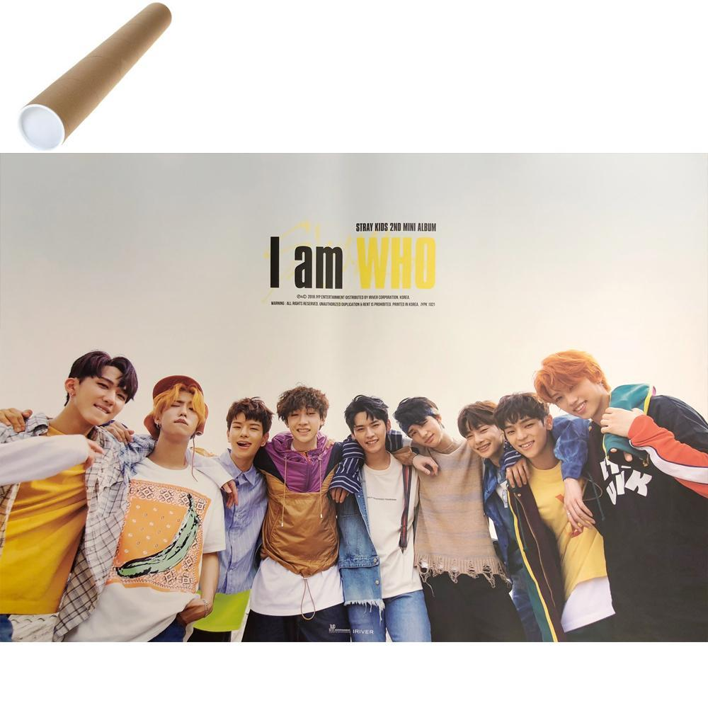 "Stray Kids [ I Am Who ] Unfold Poster  24"" x 17.5"""