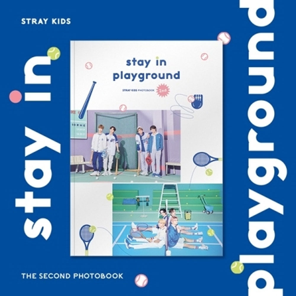 STRAY KIDS [ STAY IN PLAYGROUND ] STRAY KIDS 2ND PHOTOBOOK