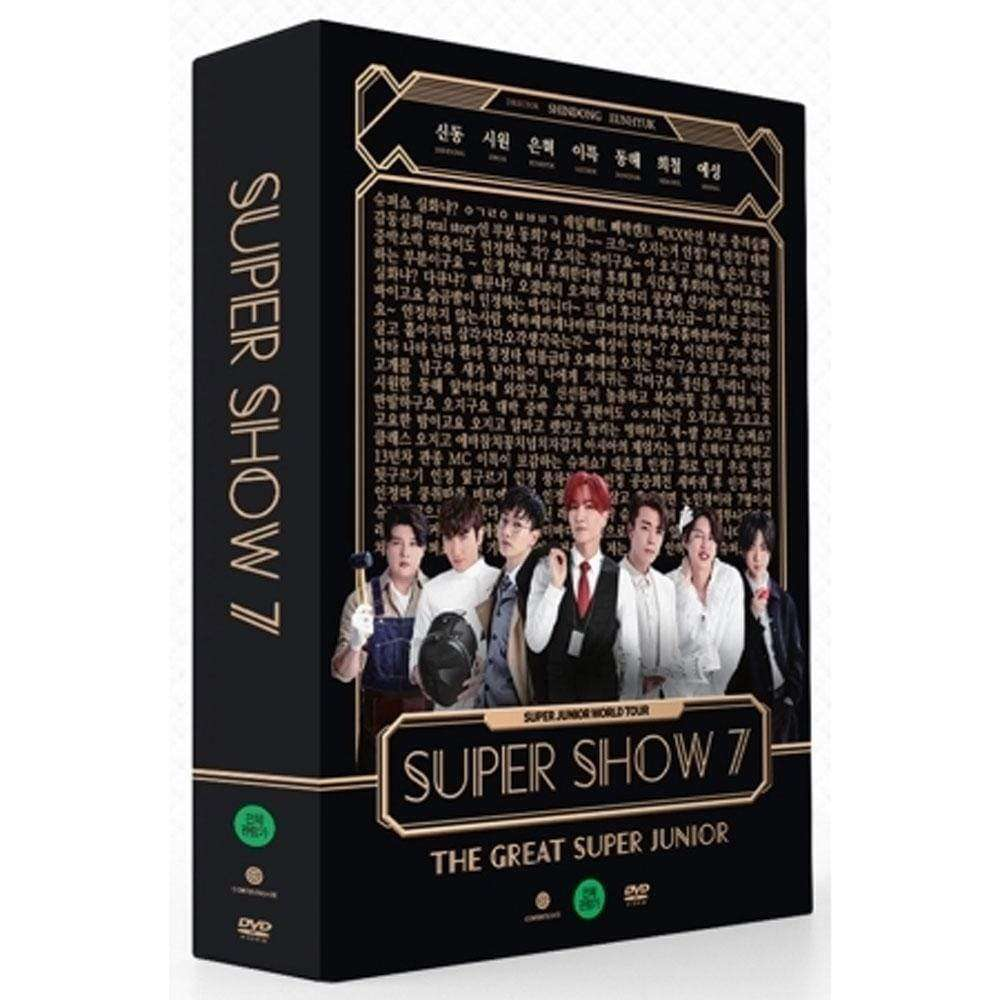 슈퍼주니어 | SUPER JUNIOR [ SUPER SHOW 7 ] DVD