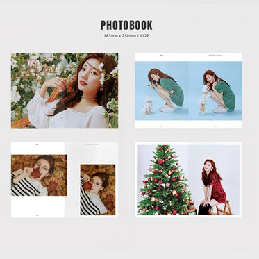 수지 SUZY 2019 SEASON'S GREETINGS [ CALENDAR+DIARY+PHOTOCARD ]