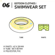 GOT7 [ SWIMWEAR SET ] GOTOON by GOT7 SUMMER STORE