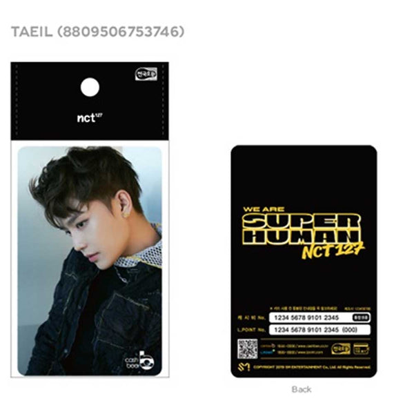 NCT 127 [ TATIL ] Korea Traffic Card * Cashbee