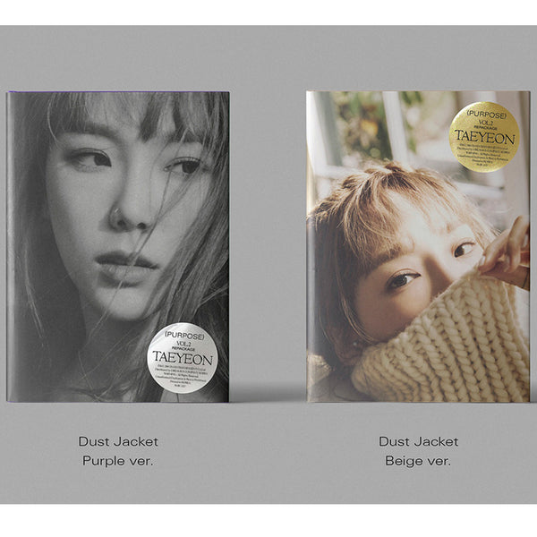 태연 | TAEYEON 2ND ALBUM [ PURPOSE ] REPACKAGE