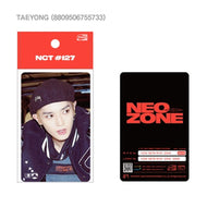 NCT127 [ NEO ZONE ] TRANSPORTATION CASHBEE CARD