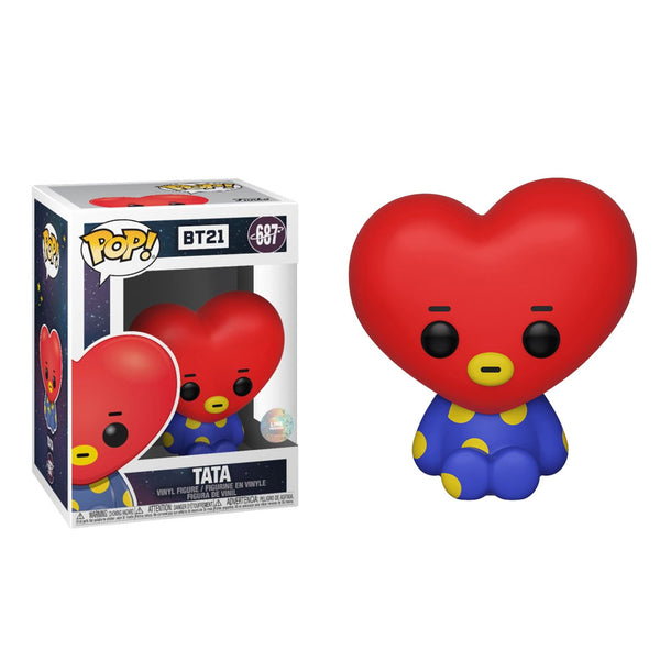 BT21 FUNKO POP! VINYL FIGURE+Free Gift (BT21 STICKERS)