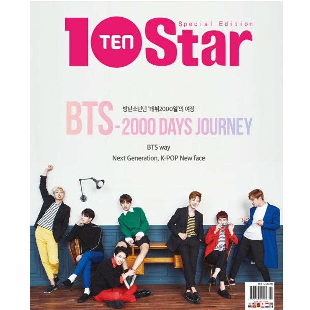 Ten(10) Star Special Edition [ Bts- 2000 Days Journey ] Magazine