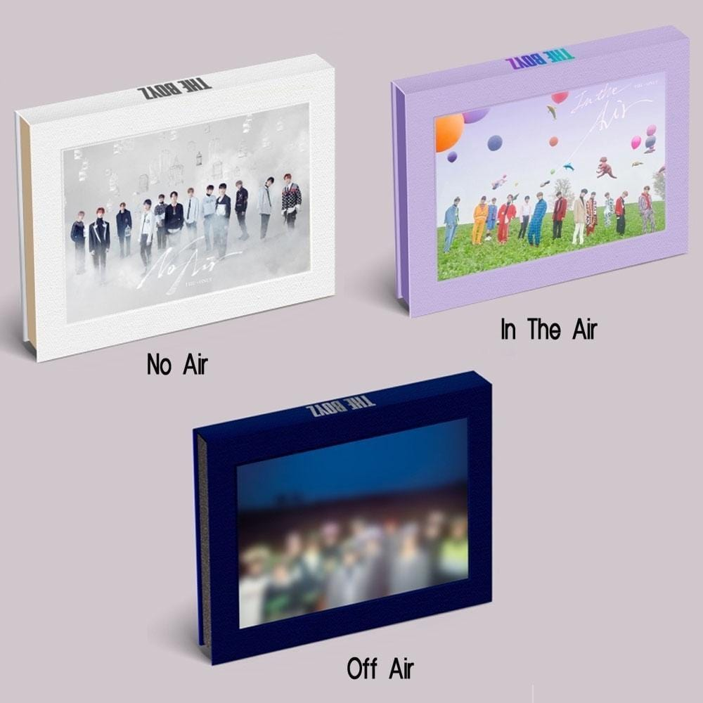 MUSIC PLAZA CD NO AIR ver. 더보이즈 | THE BOYZ | 3RD MINI ALBUM [ THE ONLY ]