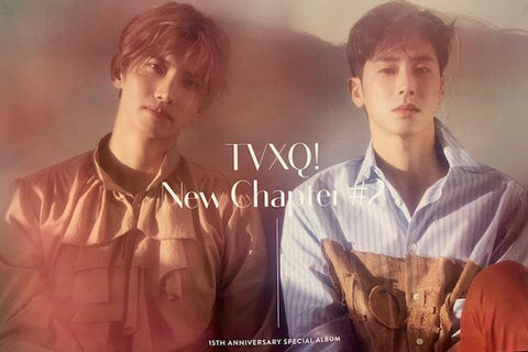 TVXQ | 동방신기 |  | New Chapter #2 15th Anniversary  POSTER