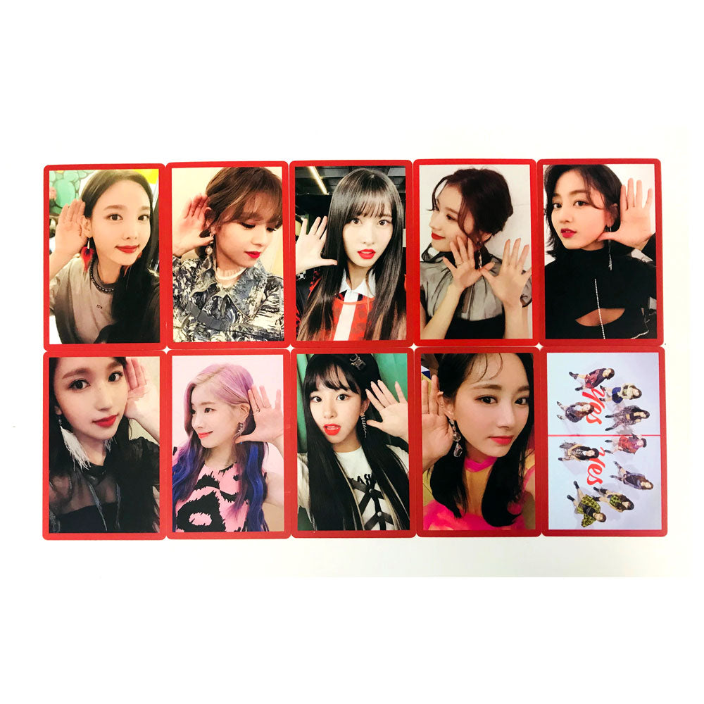 TWICE YES OR YES PHOTO CARD SET / 3 TYPE