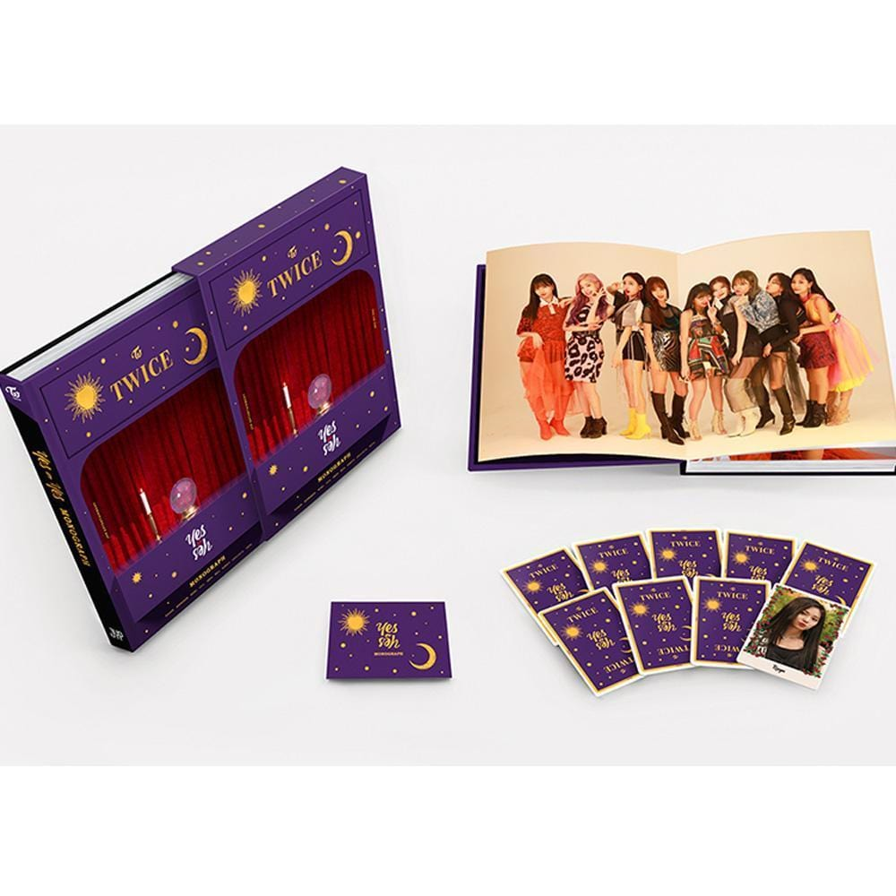 트와이스 | TWICE MONOGRAPH PHOTOBOOK [ YES or YES ] LIMITED EDITION