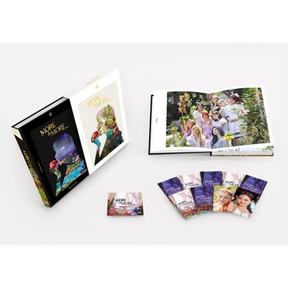 TWICE  MONOGRAPH PHOTOBOOK [ MORE & MORE ]