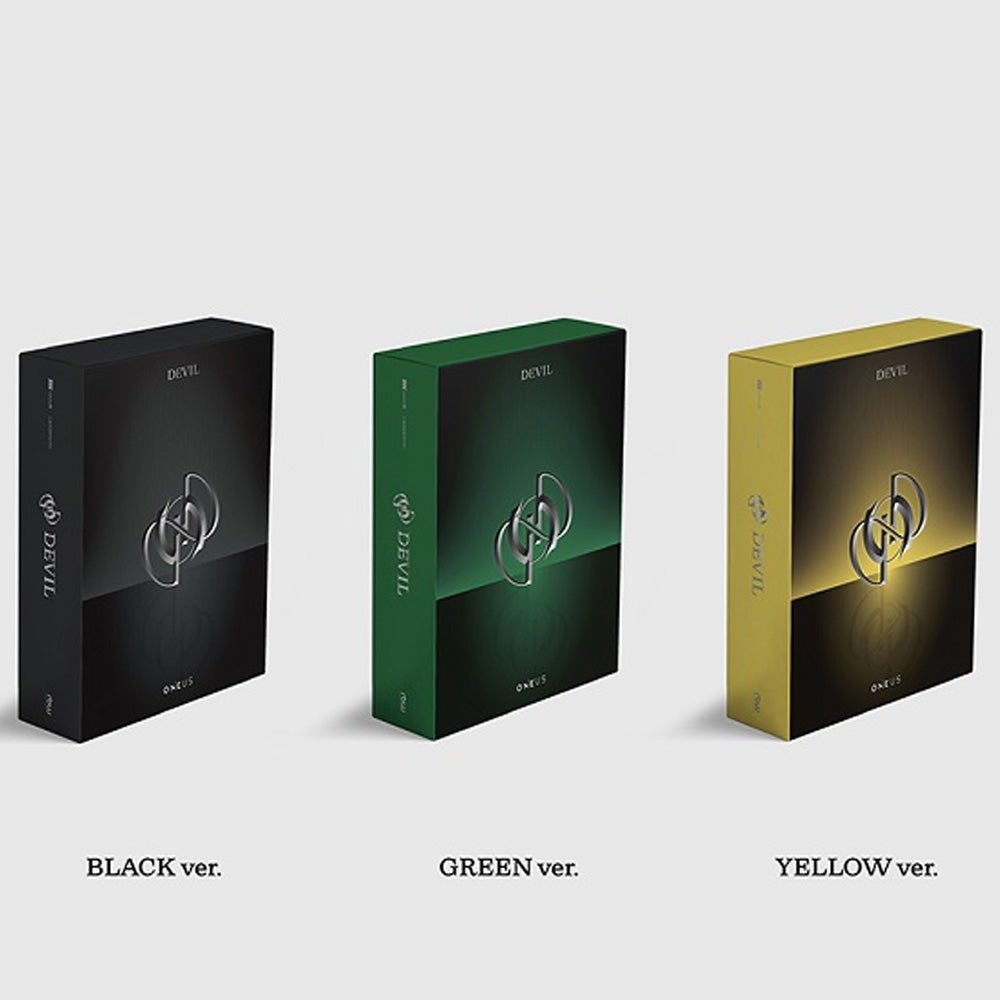 ONEUS 1ST FULL ALBUM [ DEVIL ]
