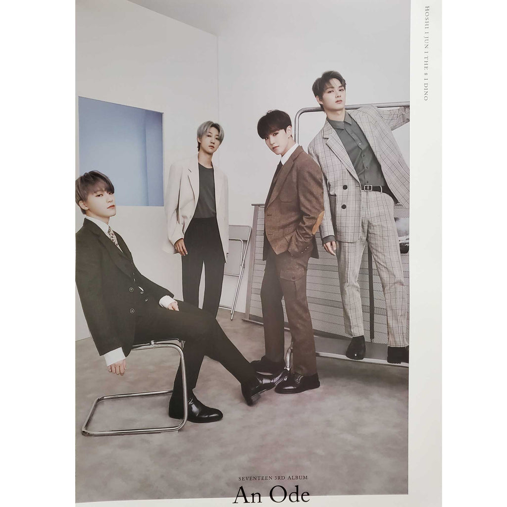 SEVENTEEN 3RD ALBUM [ AN ODE ] PERFORMANCE TEAM TEAM POSTER  | POSTER ONLY