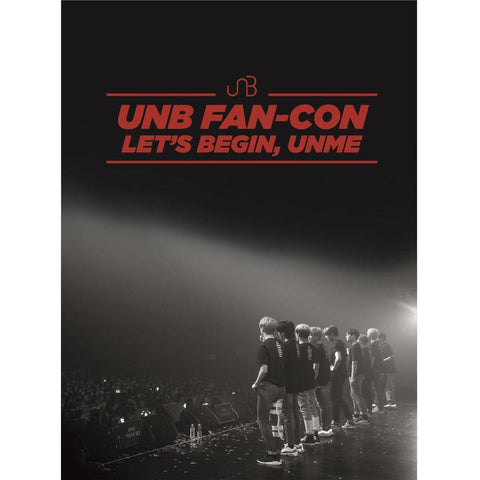 UNB | 유앤비 | 2018 UNB Fan-Con [ Let's Begin, UNME] 2DVD+1CD