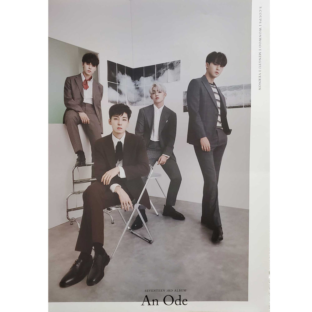 SEVENTEEN 3RD ALBUM [ AN ODE ] HIP-HOP TEAM POSTER  | POSTER ONLY