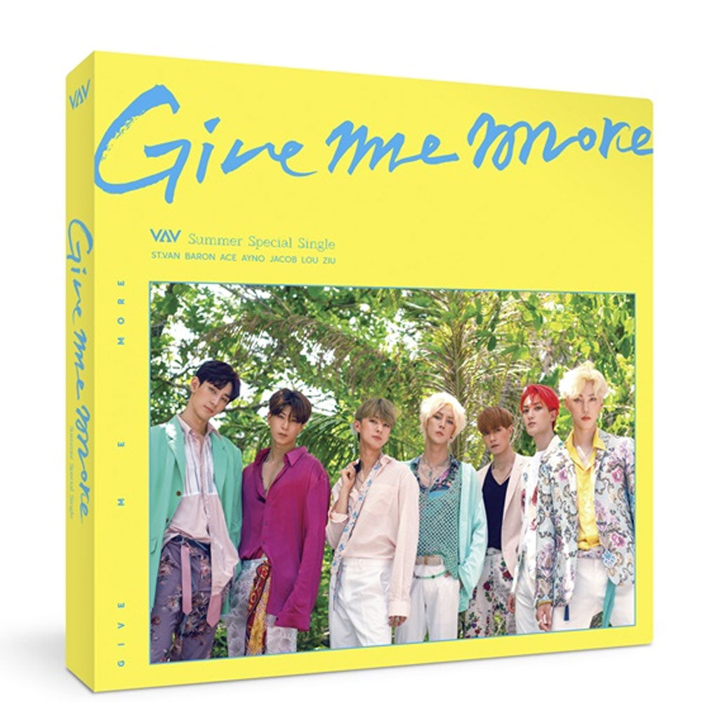 VAV SUMMER SPECIAL SINGLE ALBUM [ GIVE ME MORE ]