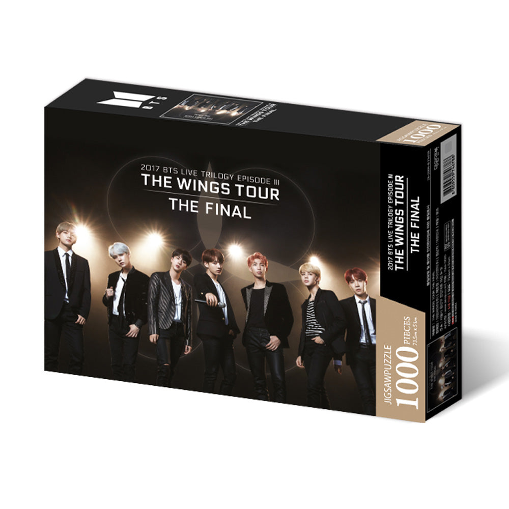 BTS JIGSAW PUZZLE WORLD TOUR POSTER [ THE WINGS TOUR ]