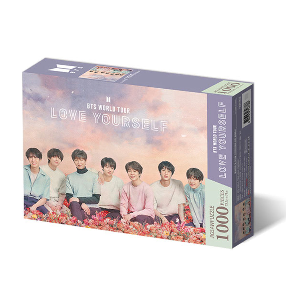 BTS JIGSAW PUZZLE WORLD TOUR POSTER [ LOVE YOURSELF ]