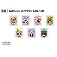 GOT7 [ WAPPEN STICKER ] GOTOON by GOT7 SUMMER STORE