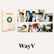 WayV 2021 BSK HARD COVER  POSTCARD BOOK