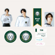 WayV 2021 BSK LUGGAGE STICKER+PHOTO CARD SET