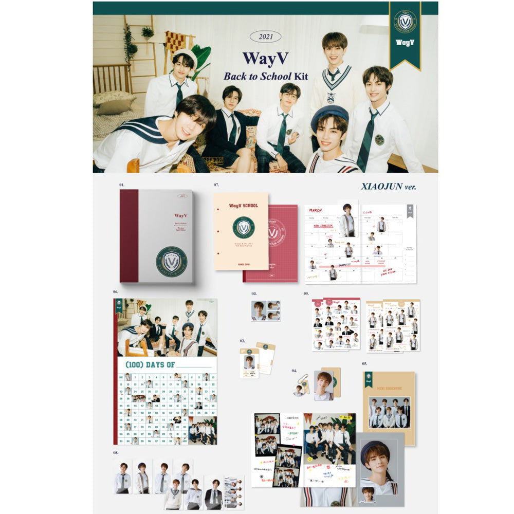 WayV | 2021 BACK TO SCHOOL KIT