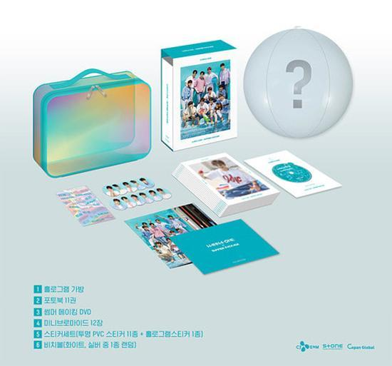 MUSIC PLAZA DVD Wanna One | 워너원 | Wanna-One X Summer Package